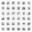 Stock Vector: Iconset business people