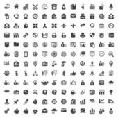 Iconset office & business — Stock Vector