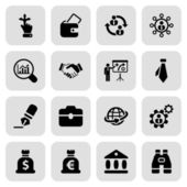 Flat business iconset 2 — Stock Vector