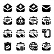 Stock Vector: Envelope iconset
