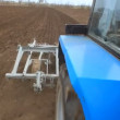 Plowing Field By Agricultural Machinery — Stock Video