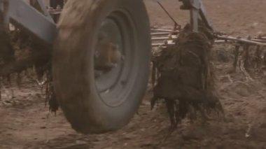 Dirty Field Work — Stock Video