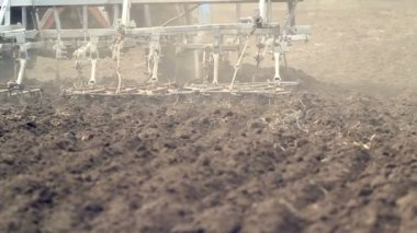 Plowed Field — Stock Video