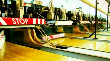 Bowling Stacke — Stock video