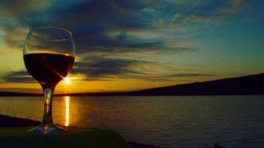 Wine & Sun — Vídeo de stock