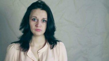 Ragazza in depressione — Video Stock