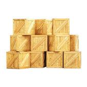 Wooden box — Zdjęcie stockowe