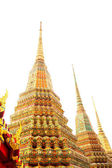 Temples Wat po bangkok thailand — Photo