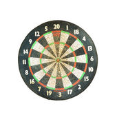 Old Classic Darts Board vintage — Stock Photo