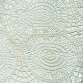 Thai peruvian style rug surface close up. — Stock Photo