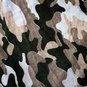 Old Thai Military camouflage fabric — Stock Photo