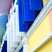 色彩丰富的窗户无缝 — 图库照片