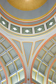 Palace Theatre ceiling — Stock Photo