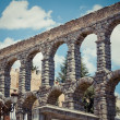 Roman Aqueduct (Segovia) — Stock Photo