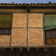 Rustic facade of Segovia — Stock Photo