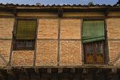 Rustic facade of Segovia — Stock Photo