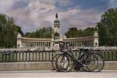 Buen Retiro Park — Stock Photo