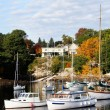 Maine Harbor — Stock Photo
