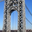 George Washington Bridge Tower — Stock Photo