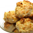 Cheddar Cheese Biscuits — Stock Photo