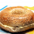 Sesame Bagel — Stock Photo