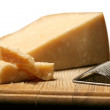 Block Of Cheese — Stockfoto