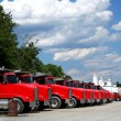 Truck Fleet — Stock Photo