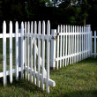 White Picket Fence — Stock Photo #34175923