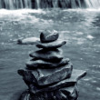 Meditation Rocks — Stock Photo
