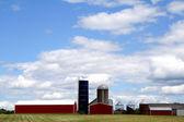 现代农场 — 图库照片