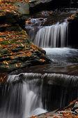 Waterfalls in Autumn — Stock Photo