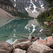 Stock Photo: Lake Louise Reflection