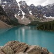 Lake Louise Scenic View — Stock Photo