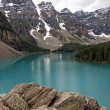 Stock Photo: Lake Louise Scenic View
