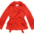 Stock Photo: Red raincoat
