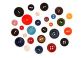 Many-coloured buttons. — Foto de Stock
