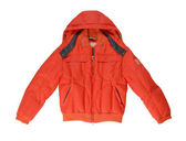 A red warm jacket. — Stock Photo