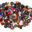 Stock Photo: Pile of variegated buttons