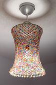Coloured lampshade — Stock Photo