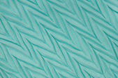 Turquoise drapery textile — Stock Photo