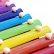 Stock Photo: Multicolored xylophone