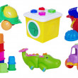 Set of baby toys — Stock Photo