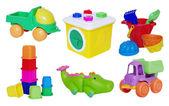 Set of baby toys — Stock Photo