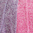 Close up of marl wool fabric — Stock Photo