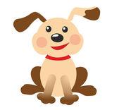 Grappige pup — Stockfoto