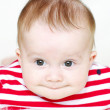 Funny baby age of 6 months — Stock Photo #35309311