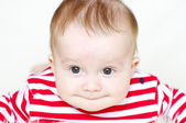 Funny baby age of 6 months — Stock Photo