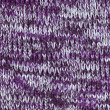 Knitted purple fabric — Stock Photo