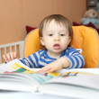 Stock Photo: Baby with book