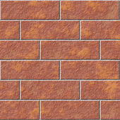 Abstract seamless brick wall texture background — Stock Photo